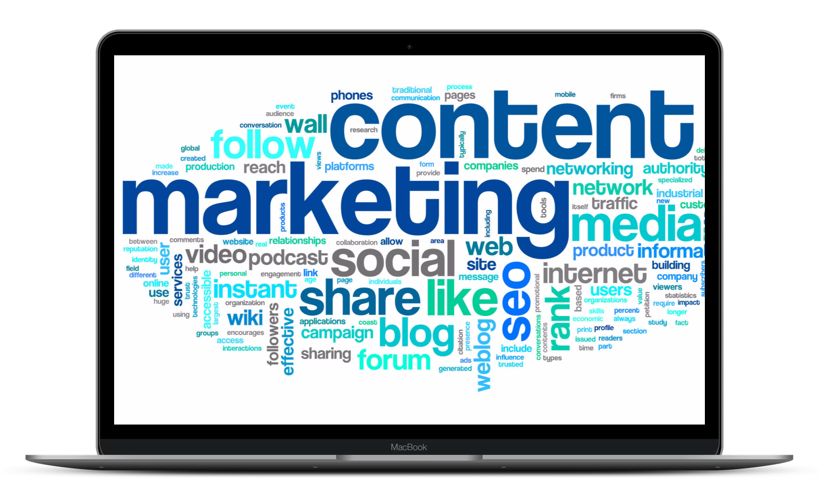 Max Media Group | Digital Content Marketing Laptop 1