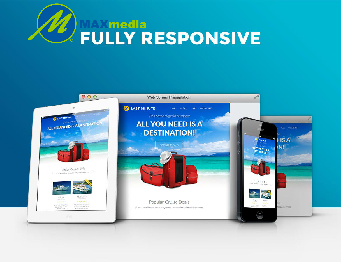 Max Media Group | Custom Responsive Email Template Design 7