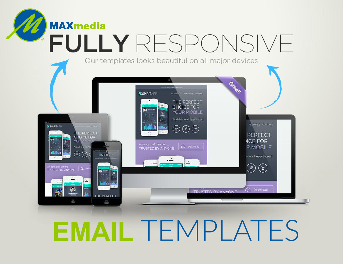 Max Media Group | Custom Responsive Email Template Design 0