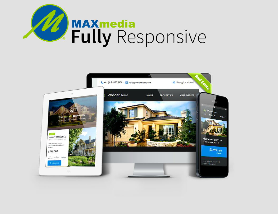 Max Media Group | Custom Responsive Email Template Design 8