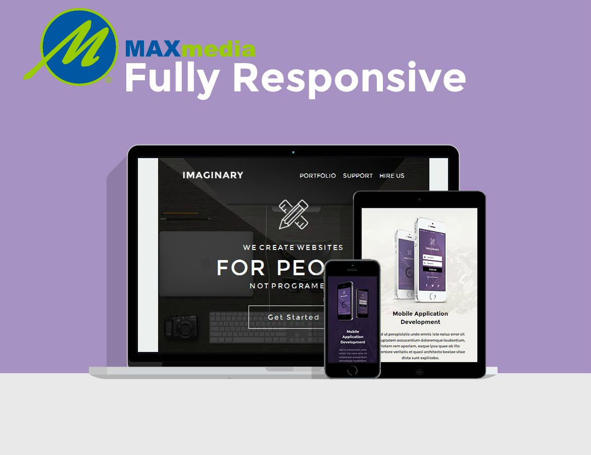 Max Media Group | Custom Responsive Email Template Design 6