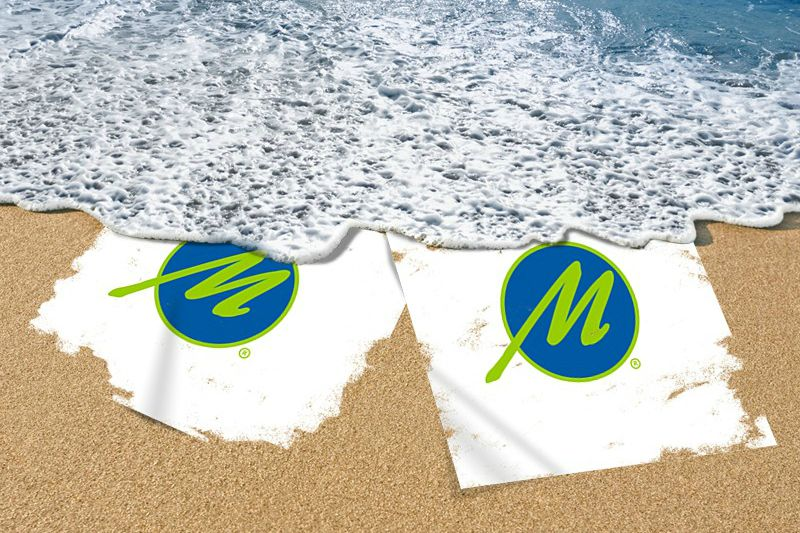 Max Media Group | Digital Content Marketing Beach Posters